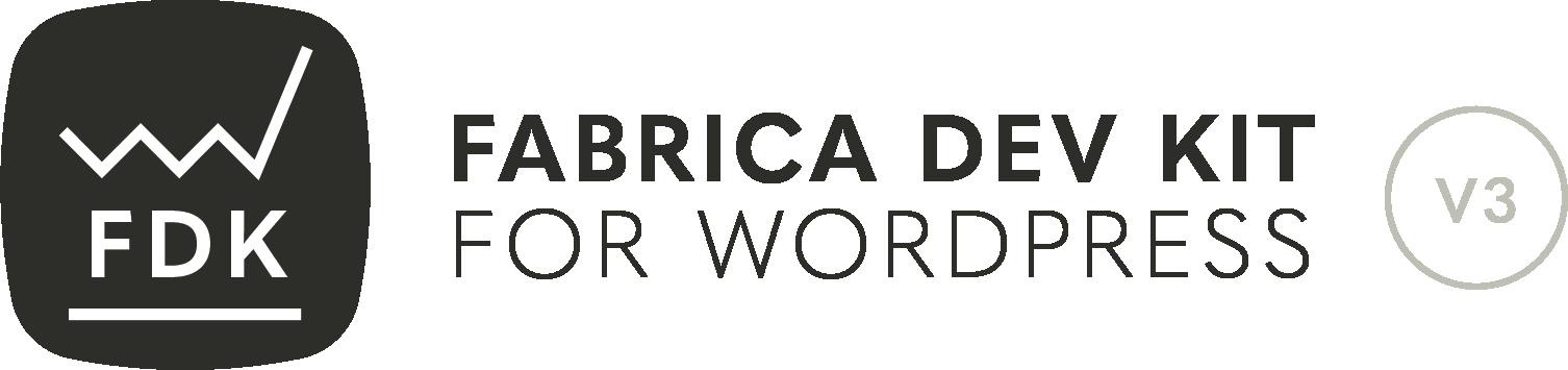 Fabrica Dev Kit for WordPress